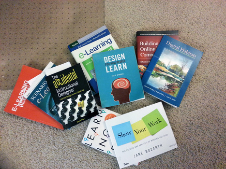 12+ Books for Instructional Designers | E-learning with the Ltrain | Scoop.it