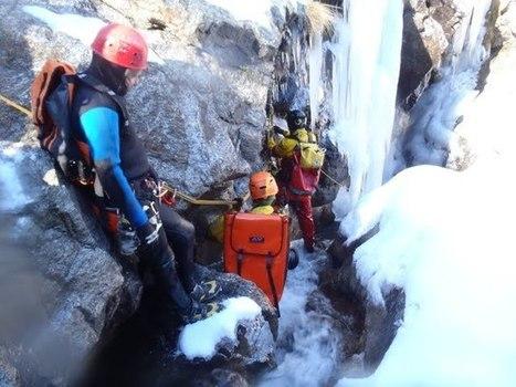 Coffret cadeau outdoor pour Noel - Ice canyoning     ski de randonnée-alpinisme-escalade   Scoop.it