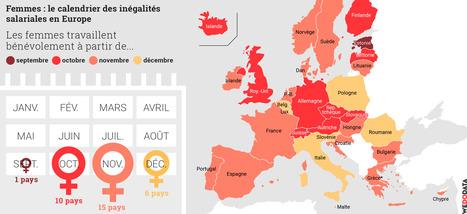 À quelle date les femmes commencent-elles à «travailler bénévolement» en Europe?   DataViz   Scoop.it