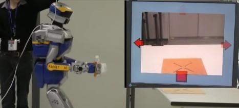 Nouvelle avancée dans le contrôle de robots par la pensée | Post-Sapiens, les êtres technologiques | Scoop.it