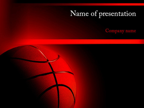 Download free Basketball powerpoint template for presentation | Powerpoint Templates and Themes | Scoop.it