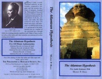 The Atlantean Hypothesis - Manly P. Hall | promienie | Scoop.it