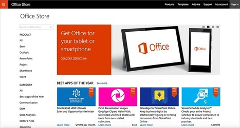 What is the Office Store? | PowerPoint presentations and PPT templates | Scoop.it