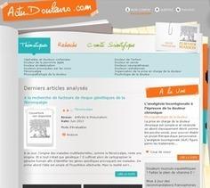 Actudouleurs : une revue de presse mobile sur la douleur ! | Elsevier Masson | douleur | Scoop.it