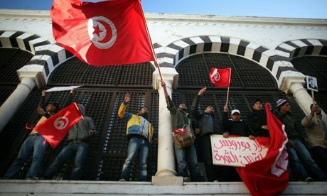 Tunisians step up pressure on interim PM Mohamed Ghannouchi | World news | The Guardian | Coveting Freedom | Scoop.it