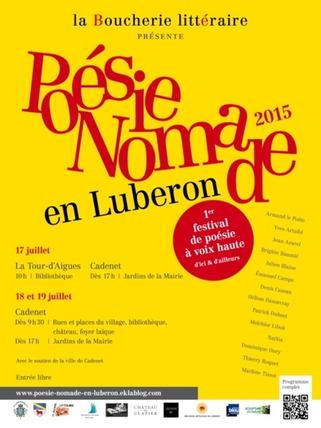 (agenda) 17 au 19 juillet, Luberon, La Boucherie littéraire, festival de poésie à voix haute | Poezibao | Scoop.it