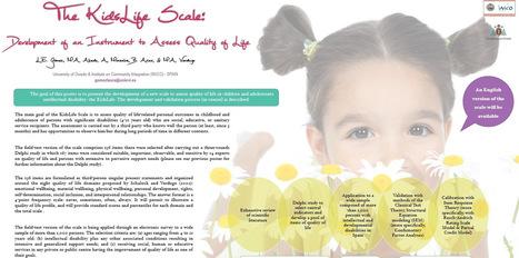 Estudio para evaluar la calidad de vida en niños y jóvenes con discapacidad intelectual   Sindrome de Down   Scoop.it