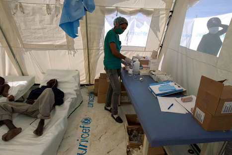 UN renews pledge to help Haiti overcome cholera epidemic - UN News Centre | Pollution and Health Risks | Scoop.it
