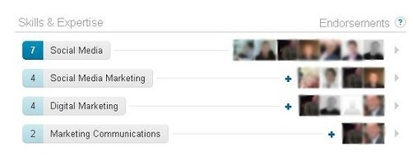Will LinkedIn endorsements have an effect on search results? | Blogging with experts | Scoop.it