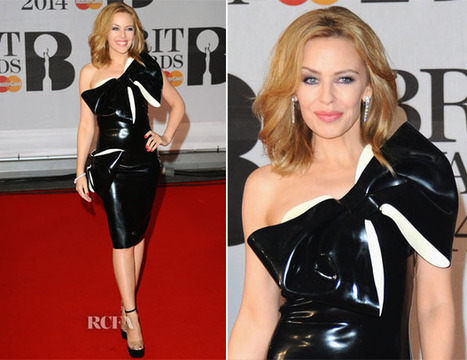 Kylie Minogue In William Wilde - Brit Awards 2014 - Red Carpet Fashion Awards | LFN - latex fetish news | Scoop.it