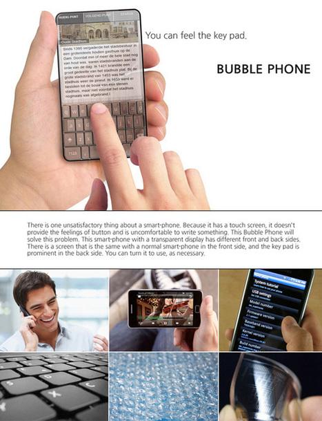 Bubble Phone Concept by Seunggi Baek » Yanko Design | Smart Phone & Tablets | Scoop.it