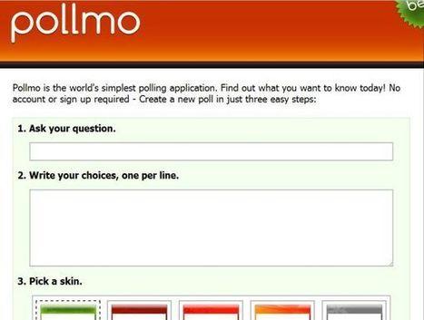 Pollmo – genera encuestas de forma rápida | EDUDIARI 2.0 DE jluisbloc | Scoop.it