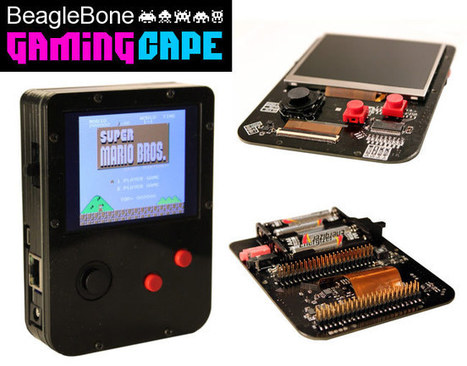 BeagleBone GamingCape Transforms BeagleBone Black Into GameBoy Emulator | Arduino, Netduino, Rasperry Pi! | Scoop.it