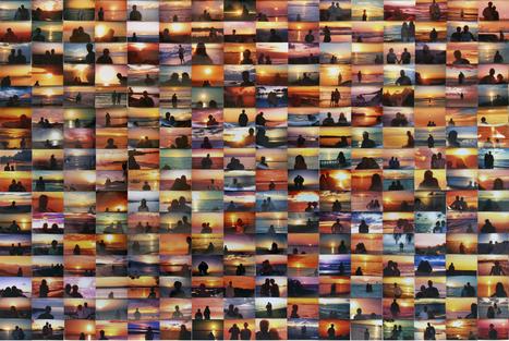 Penelope Umbrico - Sunset Portraits | Fotografías, Usos Sociales y Cultura remix | Scoop.it