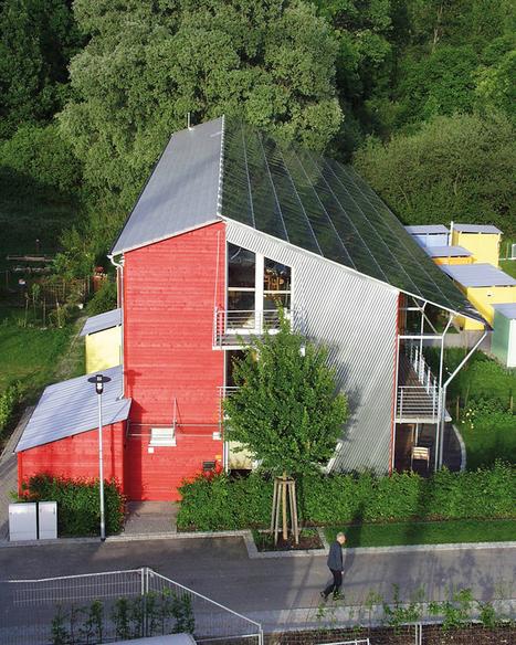 Con estos techos solares este barrio alemán produce 4 veces la energía que consume | Ecocosas | Infraestructura Sostenible | Scoop.it