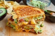 There's no one else I'd rather be - Bacon, Guacamole Grilled Cheese Sandwich ... | Crafts | Scoop.it