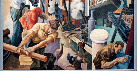 Art for the Workers' Sake: Best of Labor Day! | The Best of Art & Imagination | Scoop.it