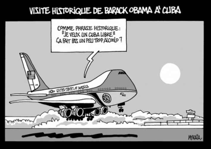 Visite historique de Barack Obama à Cuba | Baie d'humour | Scoop.it