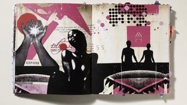 Ilustración a punto de Turrell | CutOutFest. | Arte digital, ilustración | Scoop.it