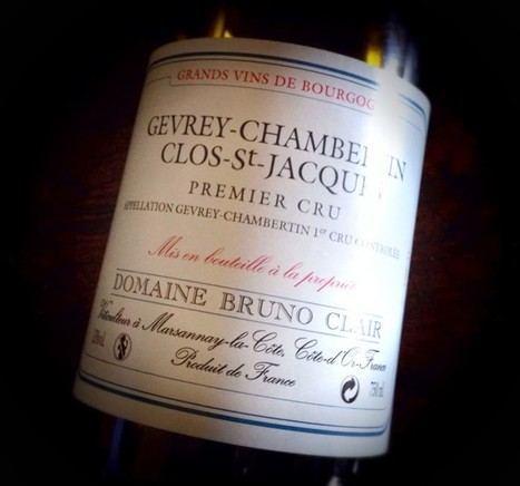 Gevrey – Chambertin Clos Saint - Jacques 2007 - Domaine Bruno Clair - Into the Wine   Into the Wine   Scoop.it