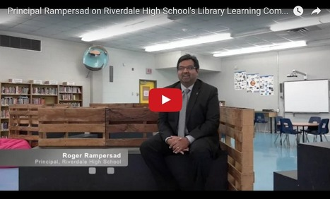 A School Principal on the Importance of His Library Learning Commons | School Library Learning Commons | Scoop.it