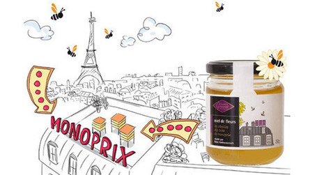 Le miel parisien Monoprix issu de l'apiculture urbaine | Innovation agro-alimentaire | Scoop.it