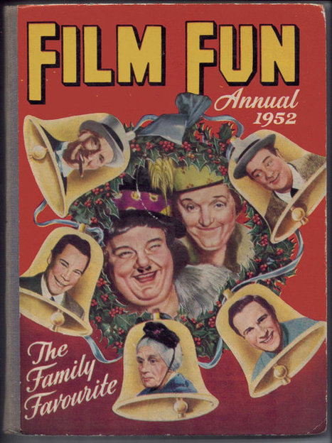 Film Fun Annual 1952. The Family Favourite. | Retrofanattic's articles and items for sale | Scoop.it