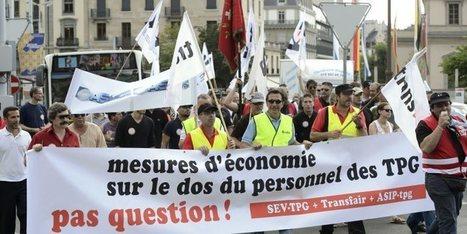 La baisse des tarifs des TPG repoussée - 20 minutes.ch | #emploi #travail #geneve #suisse | Scoop.it