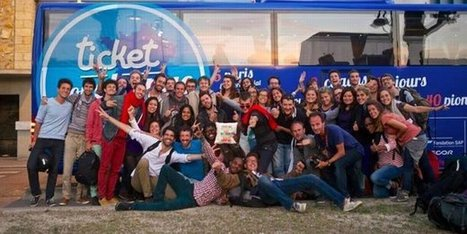 La startup sociale qui active des talents dans un bus   Revue de presse Ticket for Change   Scoop.it