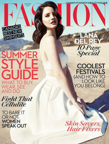 Lana Del Rey, une vision rétro en couverture de Fashion magazine - auFeminin.com | Chaussures tendances ! | Scoop.it