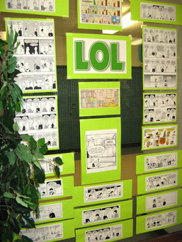 Three for: Awesome Ideas for Library Displays | School Libraries Leading Information Literacy | Scoop.it