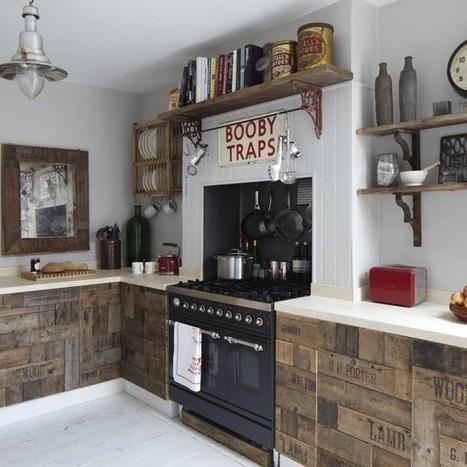 Une maison accolée de style victorien au look vintage     PLANETE DECO a homes worldPLANETE DECO a homes world   la Mode i love it   Scoop.it