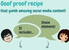 Goof-Proof Recipe Yields Amazing Social Media Content | MarketingHits | Scoop.it