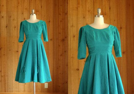 vintage 1950s party dress | Vintage! | Scoop.it