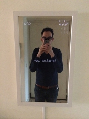 DIY: Magic Mirror!   Alchemy of Business, Life & Technology   Scoop.it