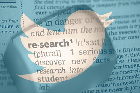 How Can Students Use Twitter For Research? - EdTechReview™ (ETR) | Edtech PK-12 | Scoop.it