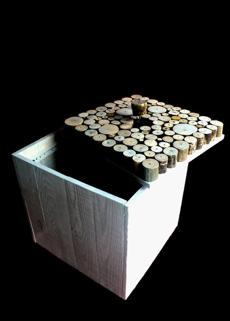 How To Make a Coffee Table From Recycled Wood | DesignRulz | Céka décore | Scoop.it