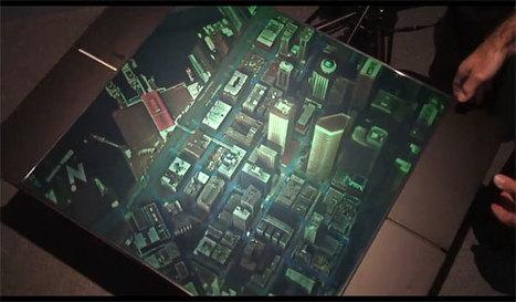 Carte holographique de Seattle, découvrez la ville en 3D | All Geeks | Scoop.it