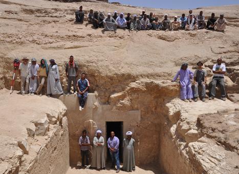 La misión arqueológica de la Universidad de La Laguna inicia su cuarta campaña de excavaciones egipcias en Luxor   Egiptología   Scoop.it