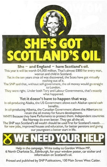 Tories deny 1970s oil claims | Referendum 2014 | Scoop.it