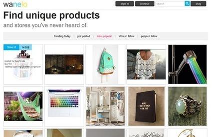 #SocialCommerce - Wanelo, encore un site de social shopping | Doctorat en informatique | Scoop.it