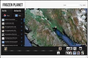 Frozen Planet - An Interactive Exploration of the Poles | Globalisation and interdependence | Scoop.it