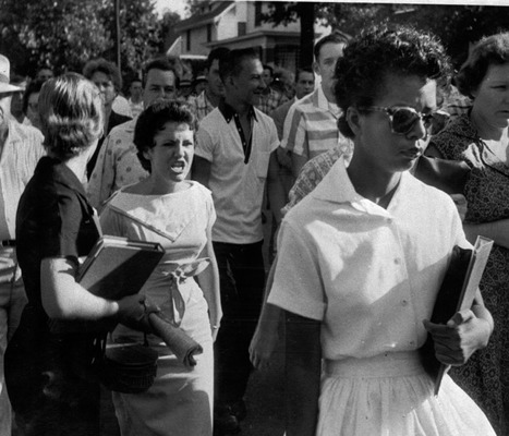 Elizabeth Eckford, the Little Rock Nine, and Respect | Voices of History by the Bill of Rights Institute | Wonderful World of History | Scoop.it
