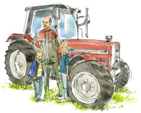 Le jour où... : J'ai décidé de ne plus prendre d'enfant sur le tracteur | Les colocs du jardin | Scoop.it