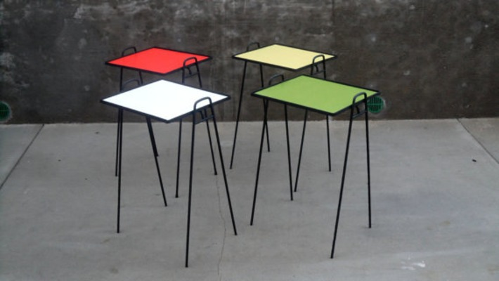 MCM Stacking Tables Attributed to Frederick Weinberg   Antiques & Vintage Collectibles   Scoop.it