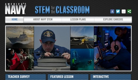 STEM Lesson Plans from Discovery Education & The US Navy via @davidleeedtech | DEN | Scoop.it