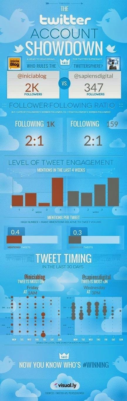 Crea una infografía de Benchmarking de tu cuenta Twitter | Educacion, ecologia y TIC | Scoop.it