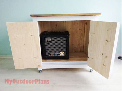 How to Build a Rolling Cabinet | Free Outdoor Plans - DIY Shed, Wooden Playhouse, Bbq, Woodworking Projects | Garden Plans | Scoop.it