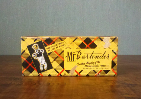 vtg Mr Bartender One Pour Jigger | Kitsch | Scoop.it