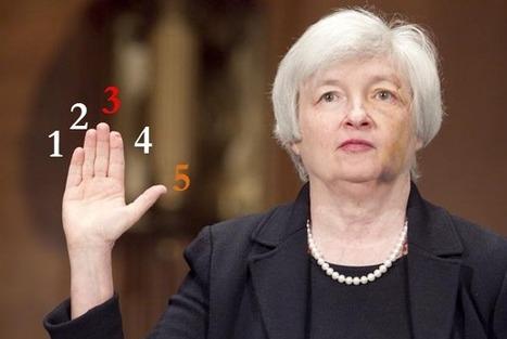 Goldman's 5 Key Questions For Janet Yellen | Economics | Scoop.it